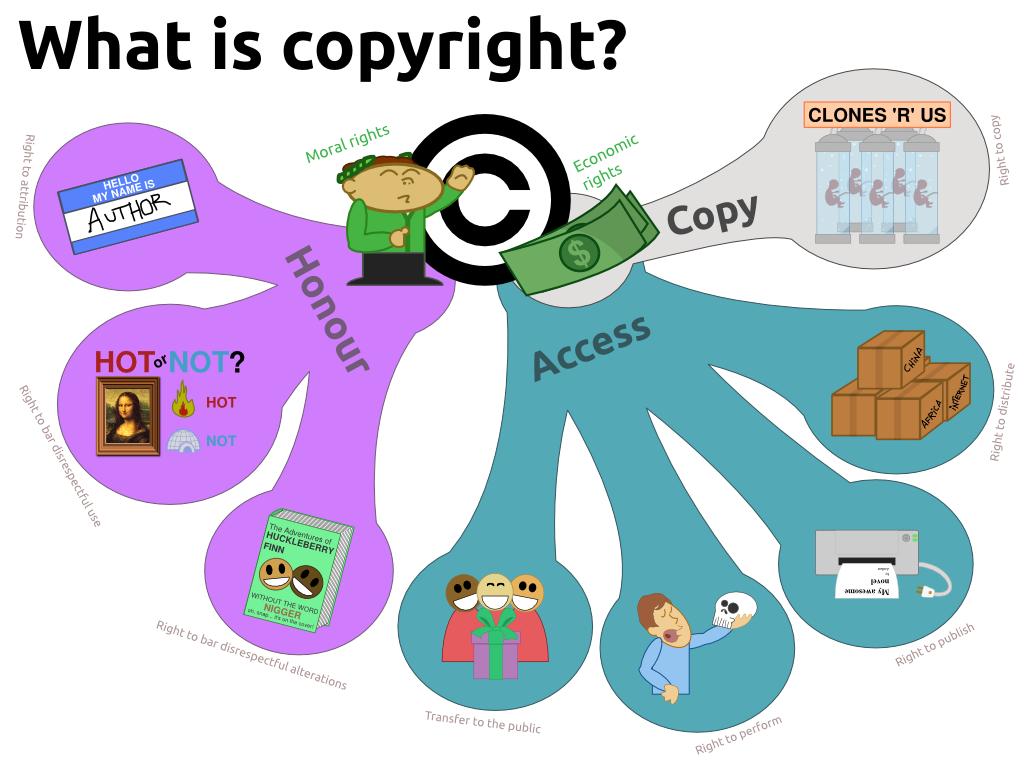 Các loại hình được Bảo hộ bản quyền